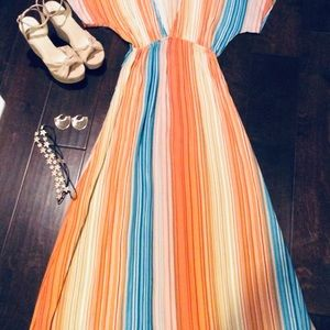 Long colorful forever 21 dress